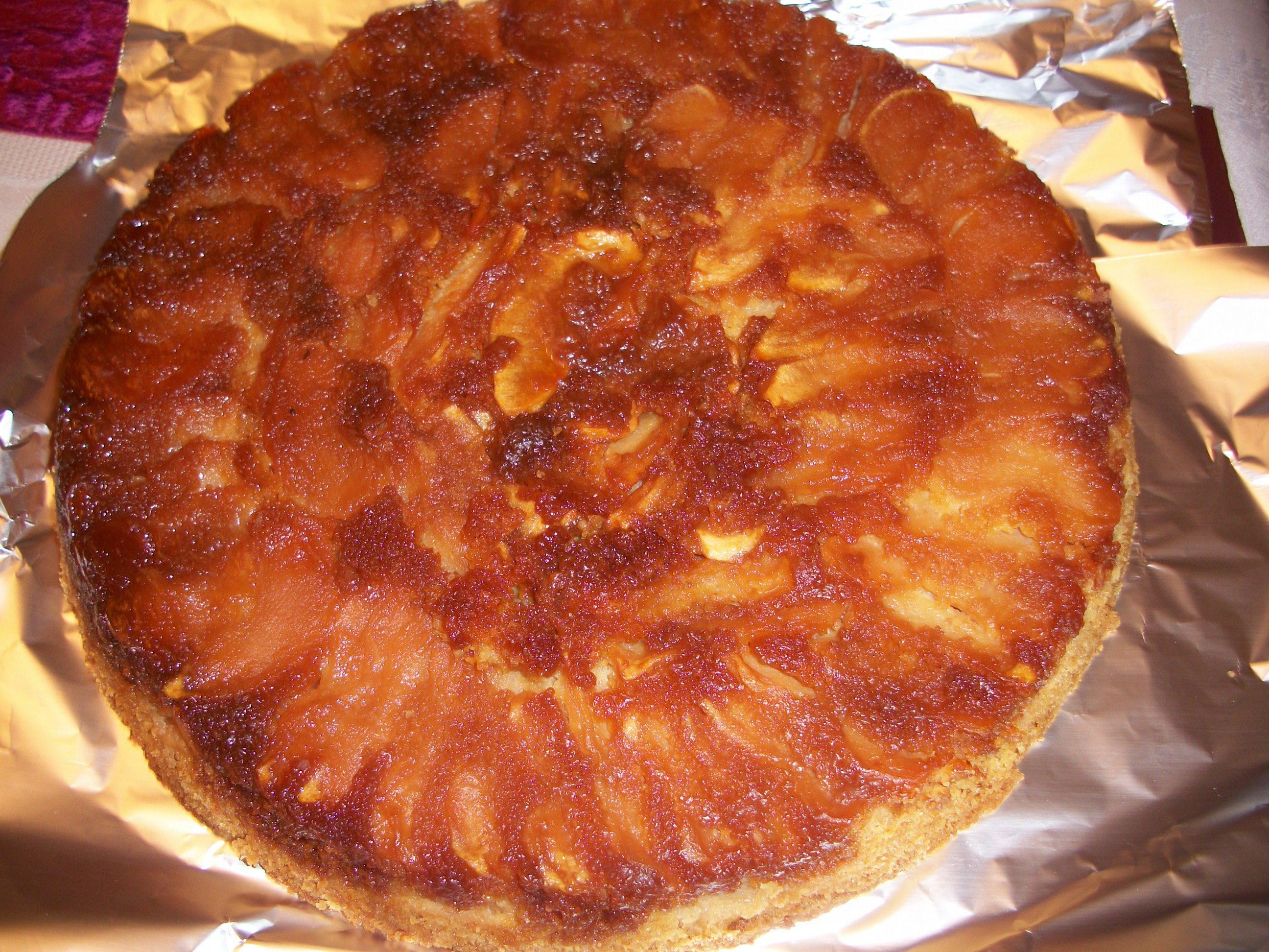 La cuisine de christine gateau renverse aux pommes for La cuisine de christine