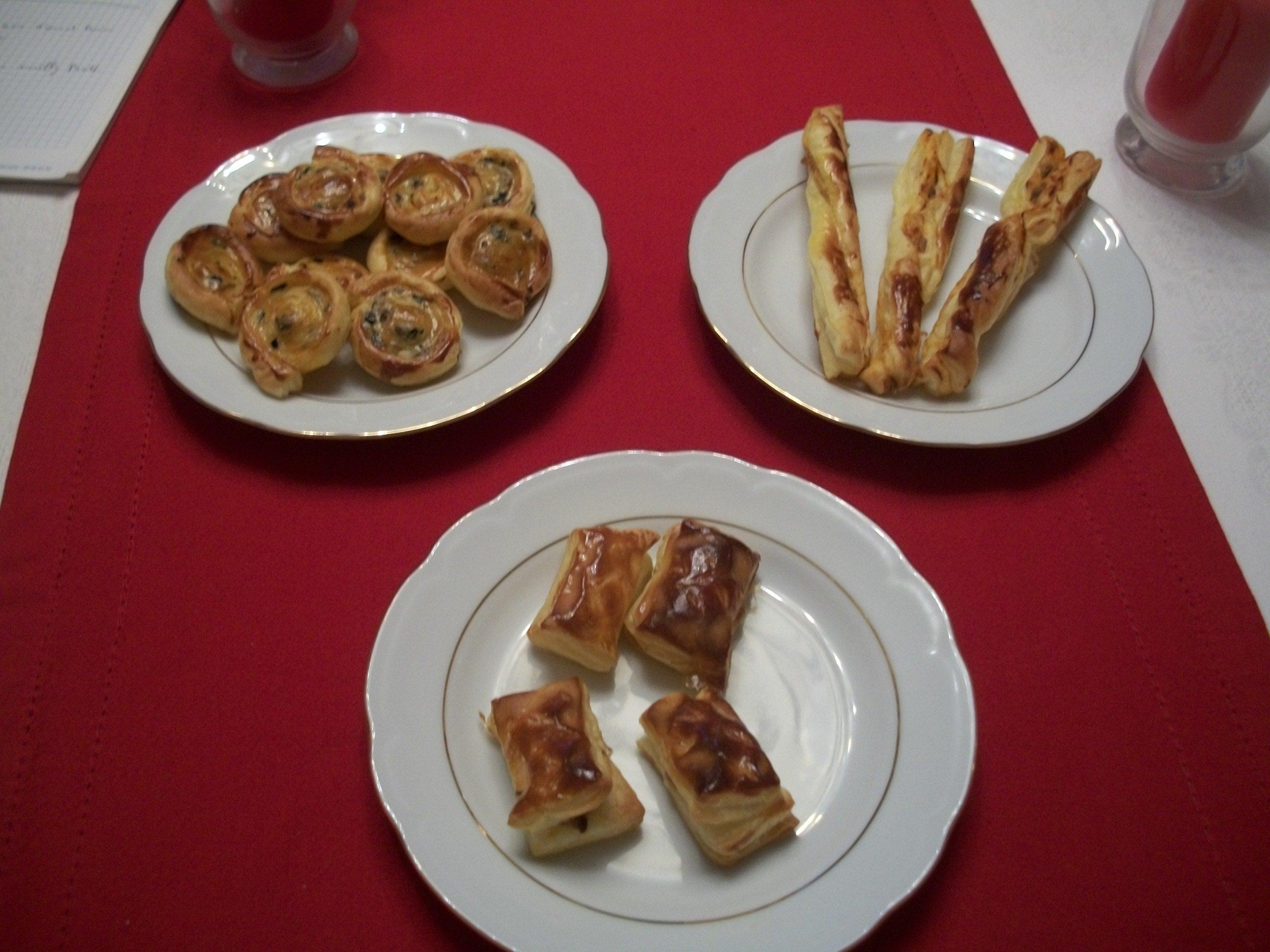 La cuisine de christine petits feuilletes pour l aperitif for La cuisine de christine