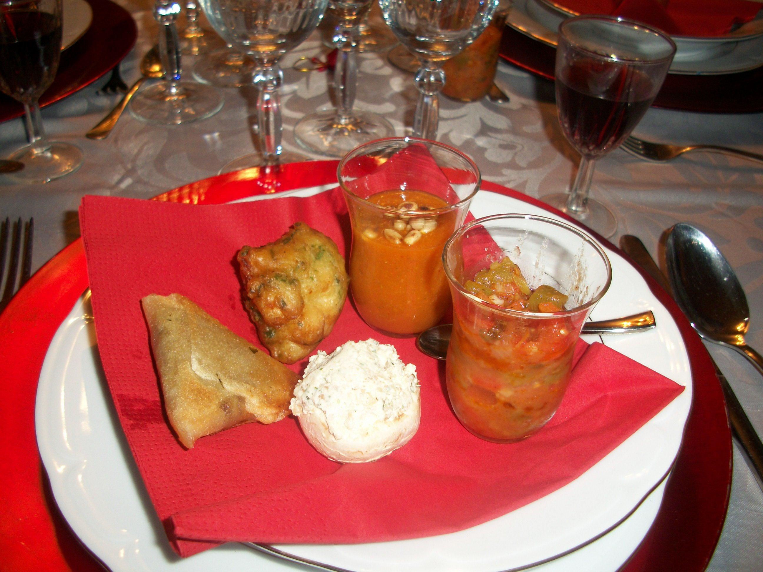 la cuisine de christine 187 bouchees aperitives pour un repas un peu piquant
